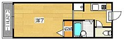 ステラハウス光[1階]の間取り