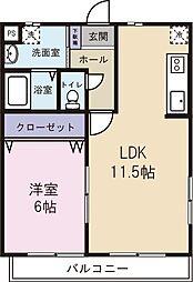 M's dream IV[4階]の間取り