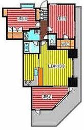 イーストゲートタワー川口[3階]の間取り