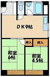 吉田マンション[2階]の間取り