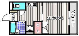 アットハウスMATSUTANI III[1階]の間取り