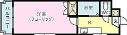 シャトレ井堀[502号室]の間取り