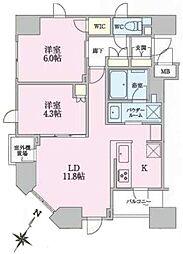 正金アパートメント入船[8階]の間取り