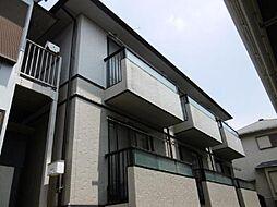 埼玉県さいたま市北区日進町2丁目の賃貸アパートの外観