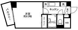 コンセール大塚台[301号室]の間取り