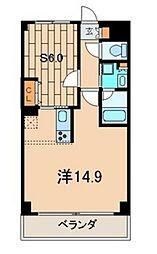 PALWISHたまプラーザ[4階]の間取り