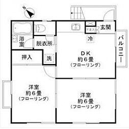 ドルフ赤塚[2階]の間取り