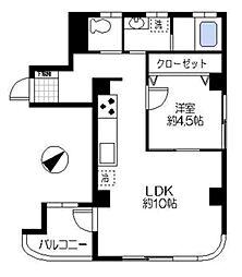 茅ヶ崎アメニティ[6階]の間取り