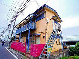 埼玉県所沢市大字松郷の賃貸アパートの外観
