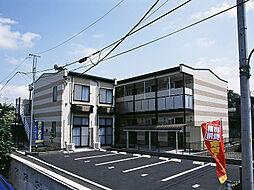東京都福生市大字熊川の賃貸アパートの外観