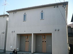 ラウンドヒルA[102号室]の外観
