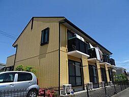 宮城県仙台市若林区南小泉4丁目の賃貸アパートの外観