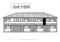 上宮永アパート[1階]の外観