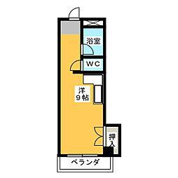 サンシャイン岩倉II[2階]の間取り
