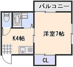 SKビルII[2階]の間取り