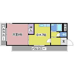 HOUSE20[4階]の間取り