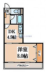 生駒カレッジシティII[3階]の間取り