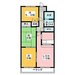 ソフィアメゾン[2階]の間取り