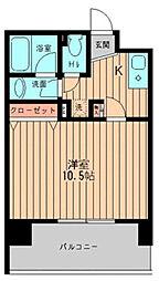 GRACE大森(公)[6階]の間取り