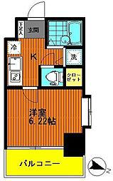 アクシーズタワー川口幸町II[8階]の間取り