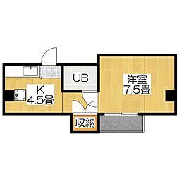 ハウス50[2-A号室]の間取り