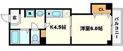 ハイツウエノ2nd[2階]の間取り
