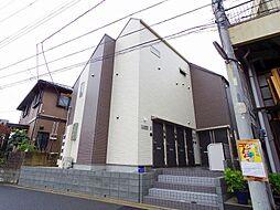 東京都国分寺市東恋ヶ窪4丁目の賃貸アパートの外観