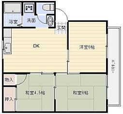 プチシャンテ[2階]の間取り