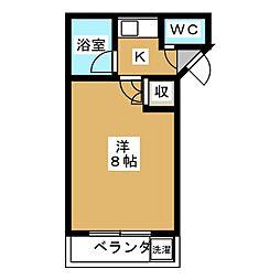 グレースU[2階]の間取り