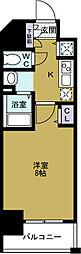 ララプレイス大阪West Prime[12階]の間取り