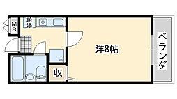 Rinon脇浜[402号室]の間取り