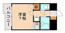 ホルトハイム神松寺[4階]の間取り