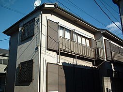 東京都練馬区大泉学園町2丁目の賃貸アパートの外観