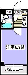 ローズマンションA69番館[2階]の間取り