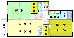プチ・ファミーユ[2階]の間取り