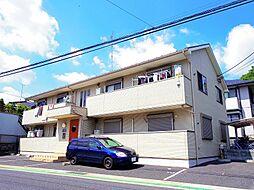 東京都東大和市高木1丁目の賃貸アパートの外観