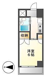 岩井橋ロイヤルハイツ[10階]の間取り