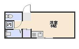 スターハイム小平[2階]の間取り