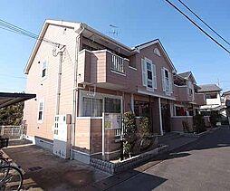 京都府城陽市久世の賃貸アパートの外観
