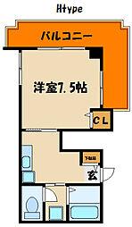 メイカビル[9階]の間取り