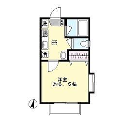 DSコート21(生田)[1階]の間取り