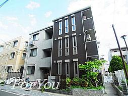 兵庫県神戸市東灘区森南町3丁目の賃貸アパートの外観