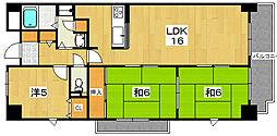 ノースビレッジI[3階]の間取り