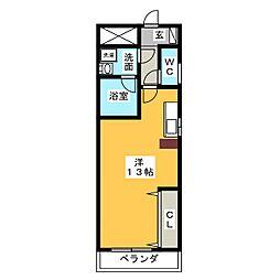 アーバンライフ原II[3階]の間取り