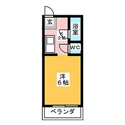 エミナンス東海[3階]の間取り