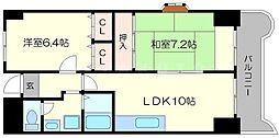 メゾン・ド・ソレイユ[5階]の間取り