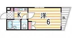 アメニティK&Sパート3[3階]の間取り