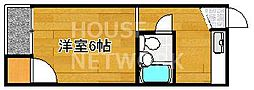ハイツメリット[302号室号室]の間取り