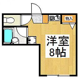 エターナルリーフ[3階]の間取り