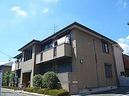 大阪府摂津市鳥飼西2丁目の賃貸アパートの外観